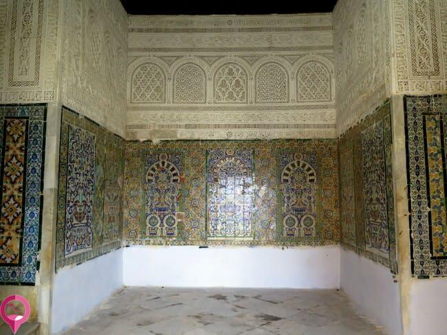 Ornamentación de la Mezquita del Barbero en Kairuán