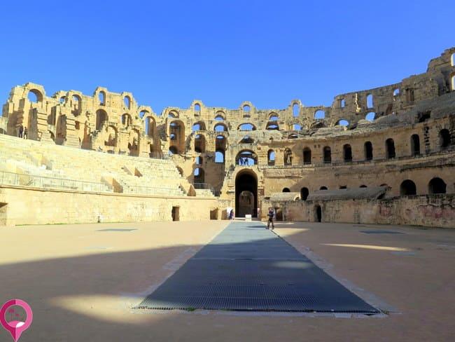 Entrada y Horarios anfiteatro de El Djem