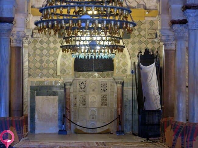 Mihrab y Minbar de la Mezquita de Kairuán