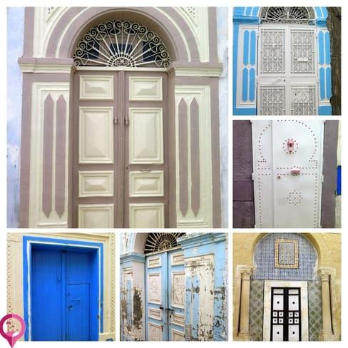 Puertas bereberes en la Medina de Kairuán