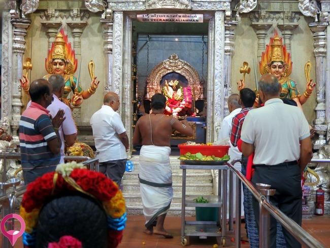 Ceremonia hindú en Singapur