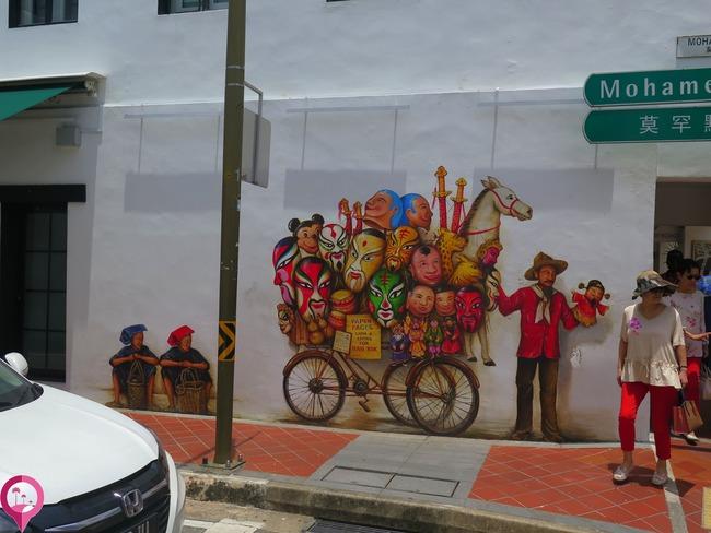 Las Mejores áreas de Singapur en las que disfrutar de su Arte Urbano