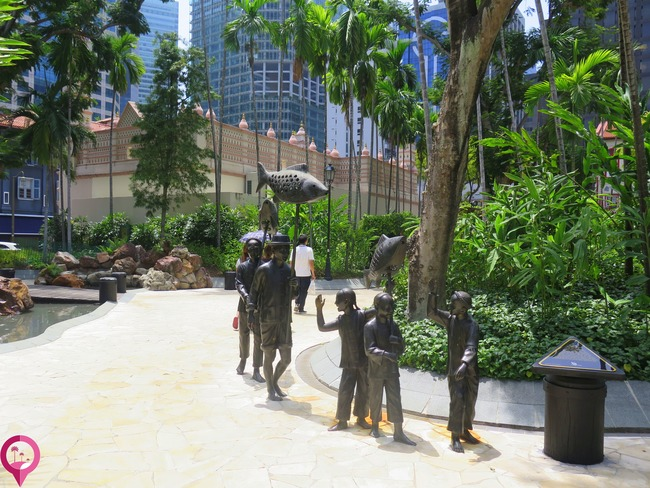 Ruta del Arte Urbano en Singapur