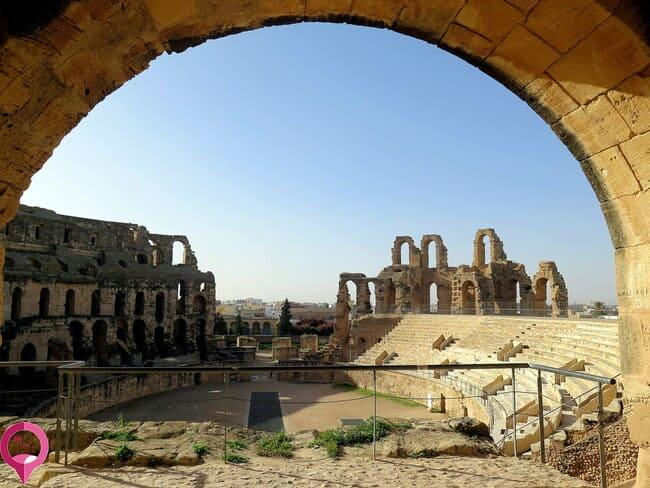 Las visitas más espectaculares de Túnez