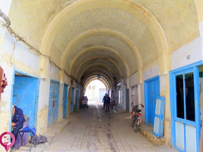 Callejones de la Medina de Kairuán