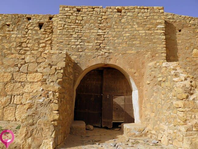 Entrada al ksar Aouadid
