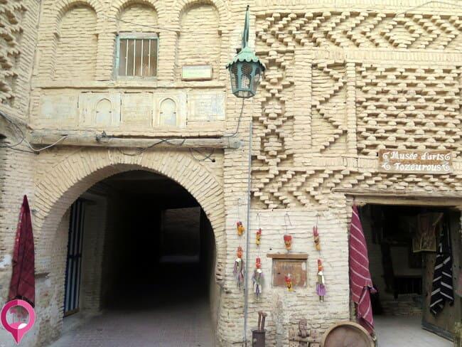 El bello trazado de la Medina de Tozeur