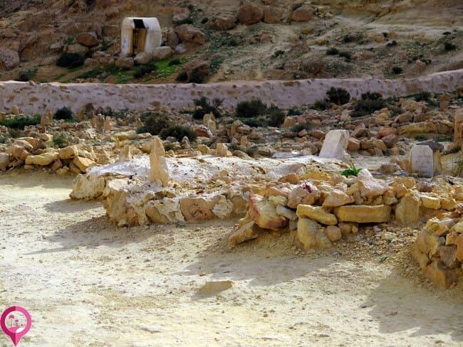 Enterramientos inusualmente largos en Chenini