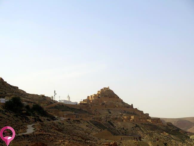 Pueblos de montaña en Túnez