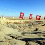 Chott el Djerid, un lago salino al sur de Túnez