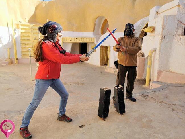 Visitar escenarios reales de Star Wars en Túnez