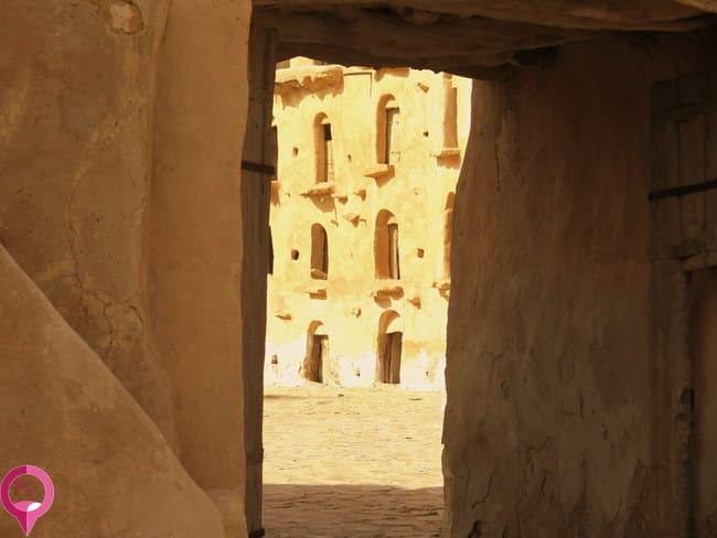 El ksar más turístico de Túnez