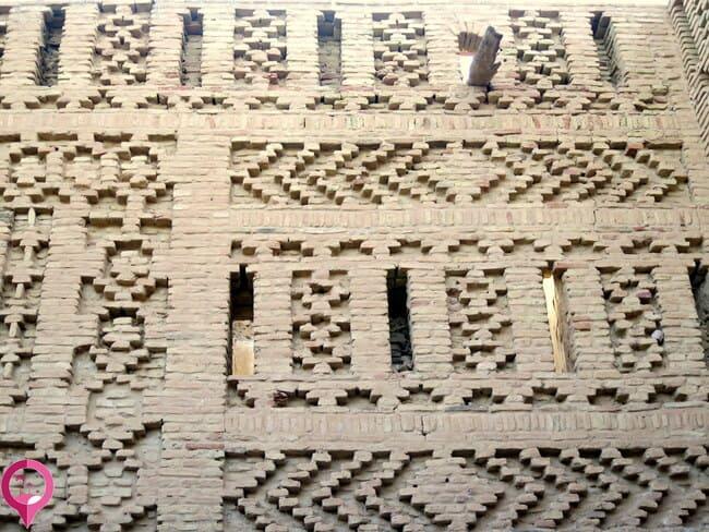 Arquitectura típica de la medina de Tozeur