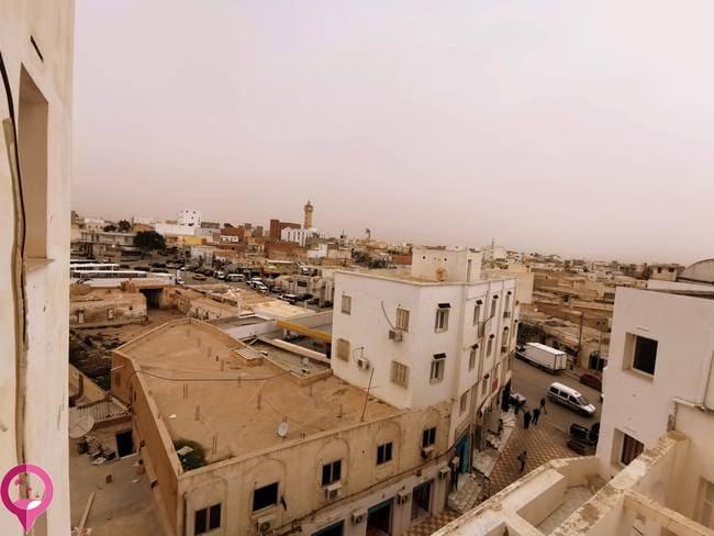 Principales ciudades al sur de Túnez