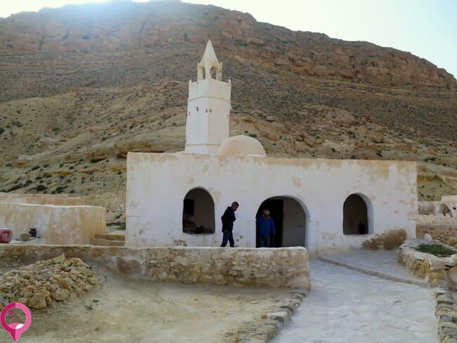Mezquita subterránea en Chenini
