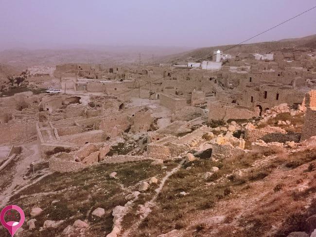 Pueblos fortaleza de Túnez
