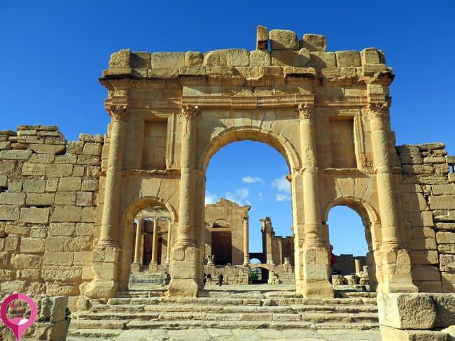 Arco romano de Sbeitla