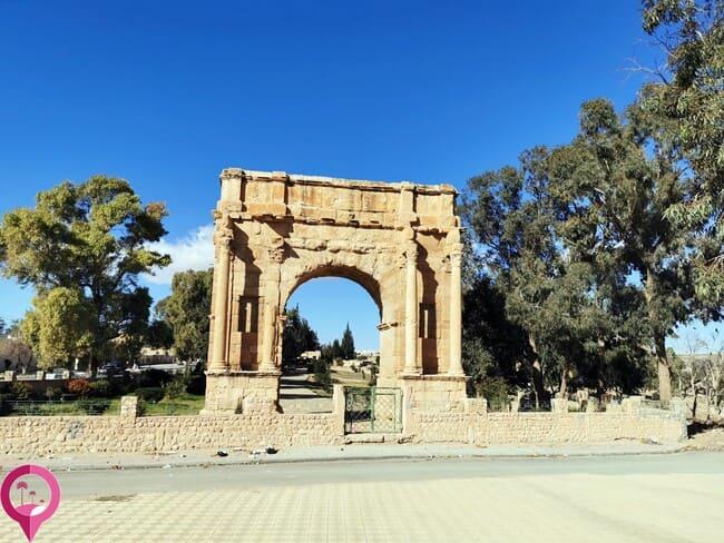 Arco de Dicocleciano en Sbeitla