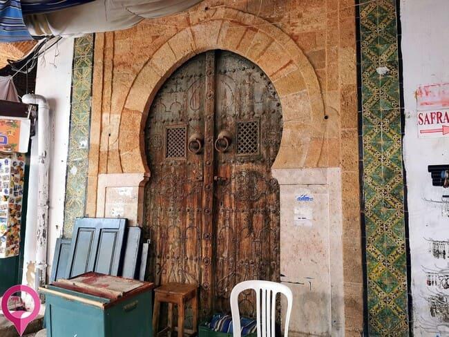Los monumentos del interior de la Medina de Túnez