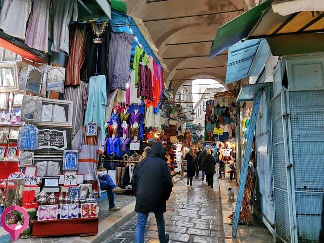 Los mejores lugares para ir de compras en Túnez