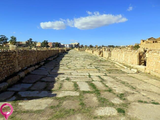 Calzadas romanas de Túnez