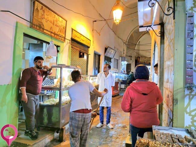 Puestecillos en la Medina de Túnez