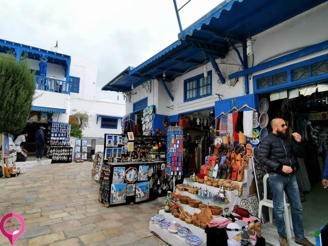 Comprar artesanía en Túnez