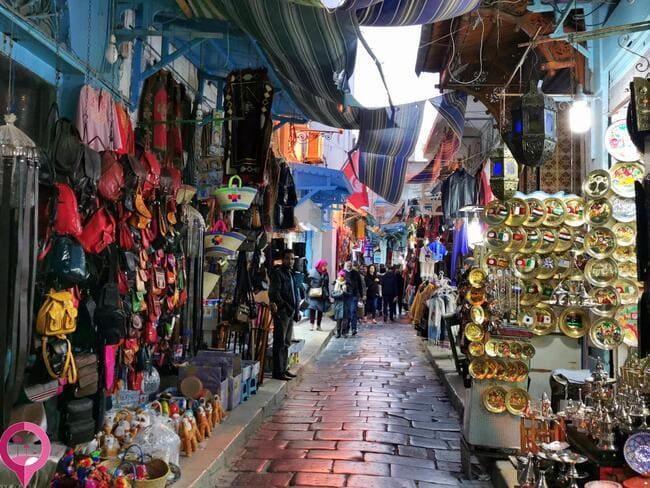Souvenirs de Túnez