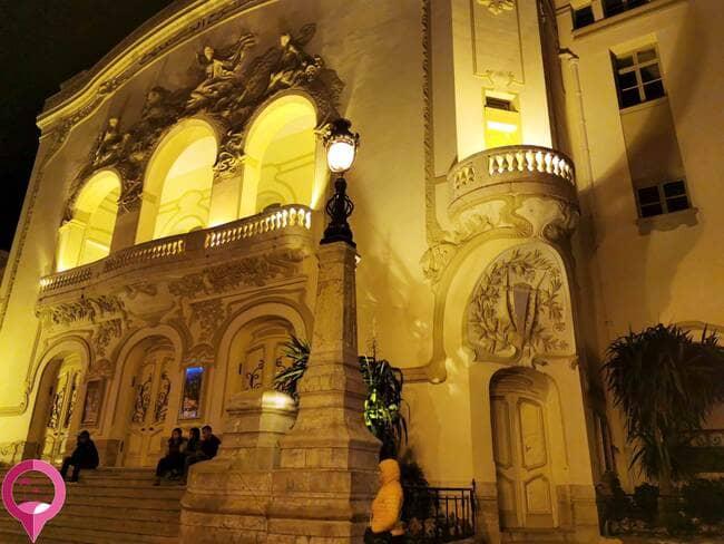 Arquitectura de principios del siglo XX en Túnez