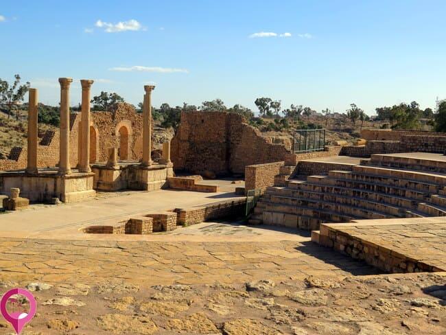 Ciudades romanas de la antigüedad en Túnez
