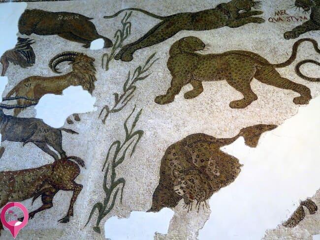 Mosaico de bestias