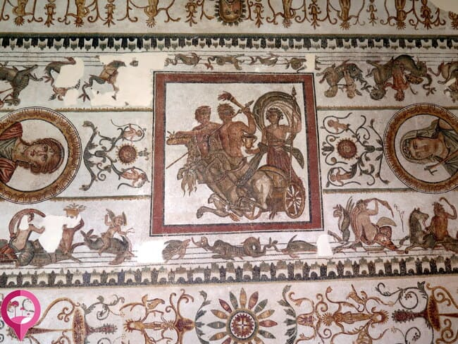 Maestría de los mosaicos romanos