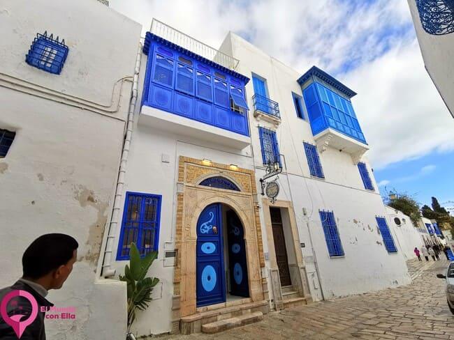 El pueblo tunecino de arquitectura andalusí