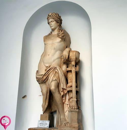 Colección arqueológica en El Bardo (Túnez)