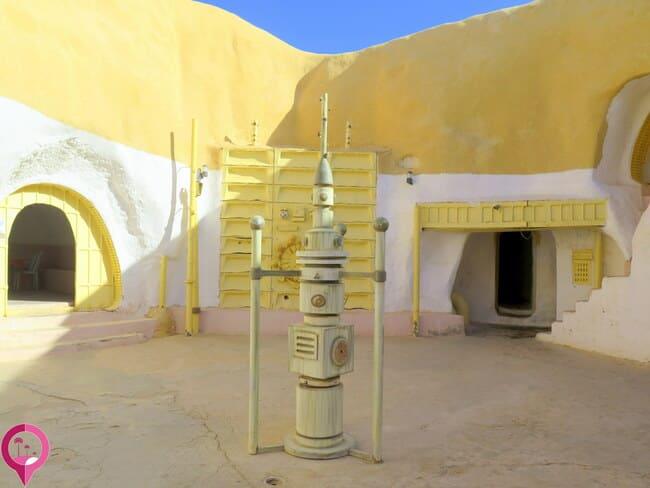 Lugares que sirvieron de decorados para el cine en Túnez