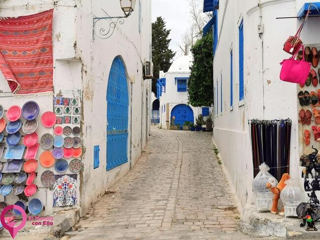 De compras en Sidi Bou Said