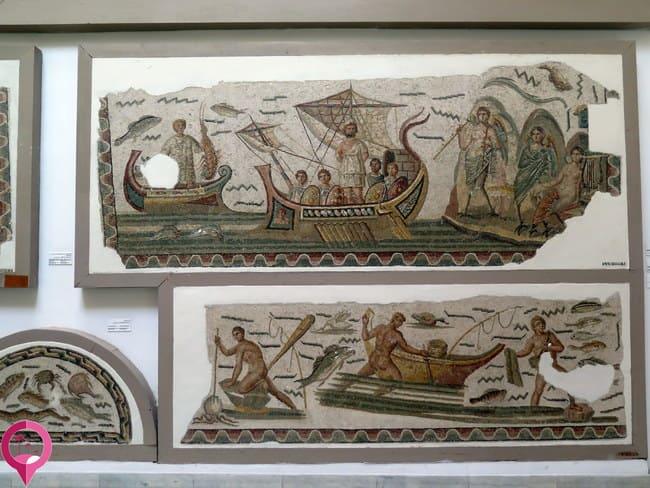 Colección de objetos del África proconsular romana