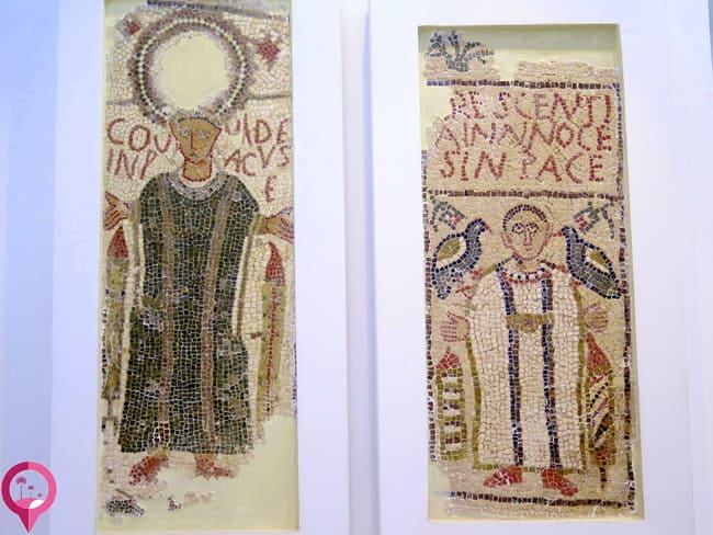 Mosaicos cristianos en Túnez