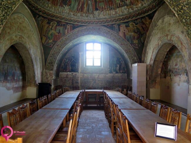 Frescos en el Monasterio de Horezu