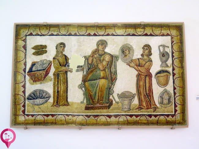 Los mosaicos romanos más conocidos del Bardo en Túnez