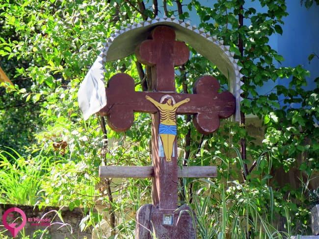 Cruces en las zonas rurales de Rumanía