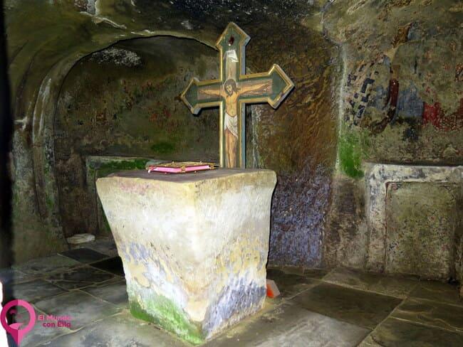 Monasterio Rupestre ortodoxo en Rumanía