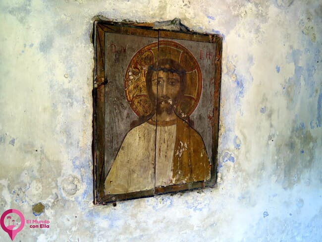 Antiguos iconos bizantinos de Rumanía