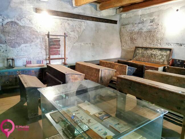 Escuela en la Iglesia Fortificada de Prejmer