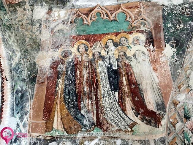 Curiosidades en las Iglesia Fortificada de Harman