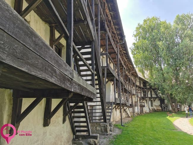 Iglesias fortificadas cerca de Brasov