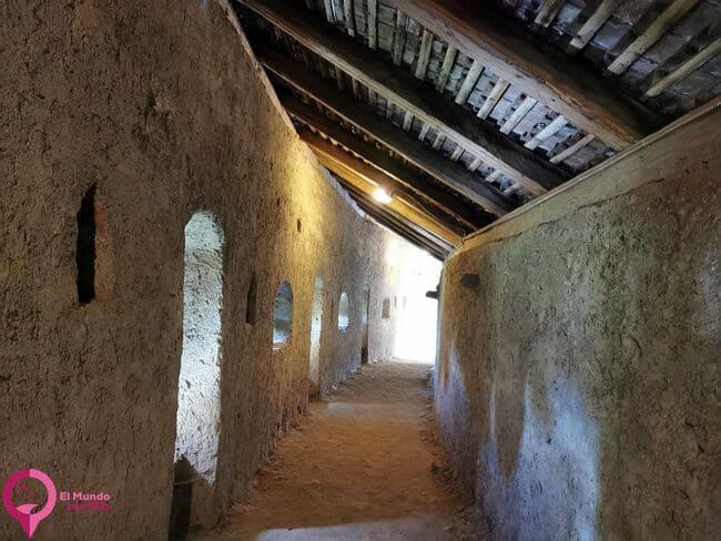 Estructura de la Iglesia Fortificada de Harman