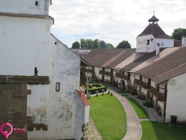 Mayor conjunto de Iglesias fortificadas en Europa