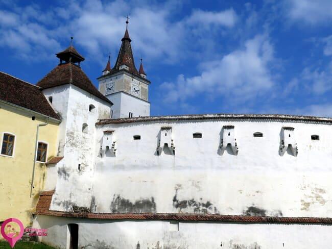 Muros defensivos de las Iglesias Fortaleza de Rumanía