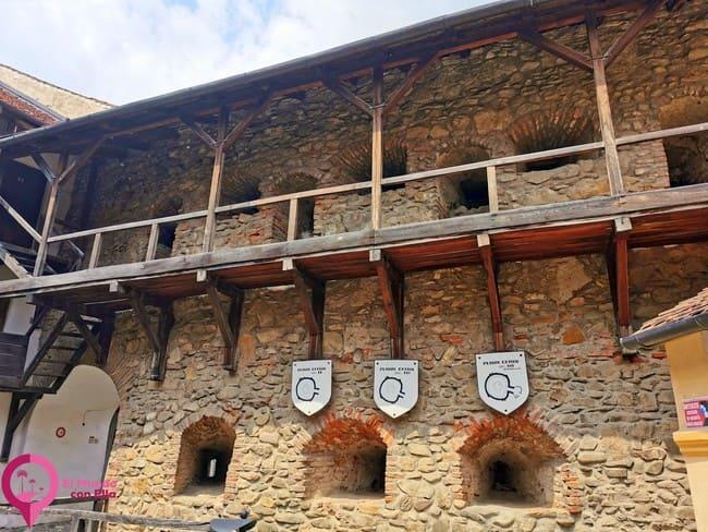 Recintos fortificados en la Iglesia Luterana de Prejmer